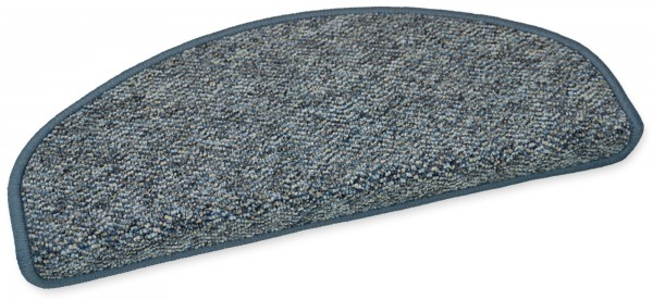 Stufenmatte Capri blau 50x20