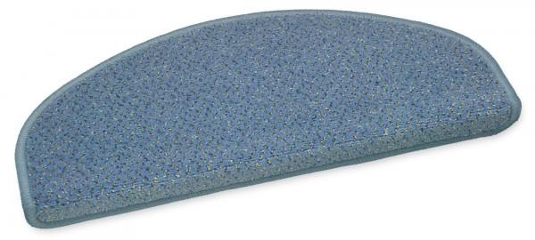 Stufenmatte Vorwerk Bari blau 50x20cm