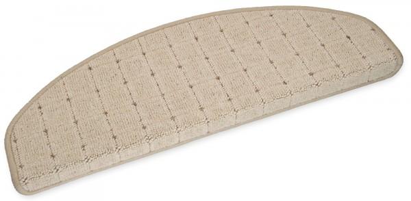 Stufenmatte Speedy beige halbrund