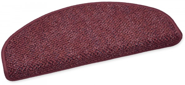 Stufenmatte Astor rot 50x20cm