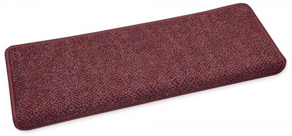 Stufenmatte Astor rot eckig