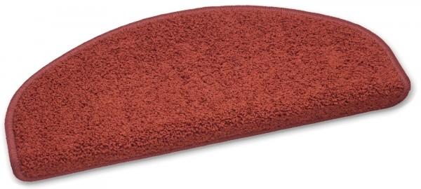 Stufenmatte Hochfloor Curly rot 50x20cm