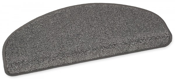 Hochwertige Stufenmatte London grau-braun 50x20