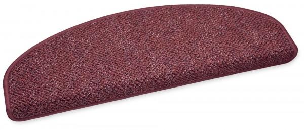 Stufenmatte Astor rot halbrund