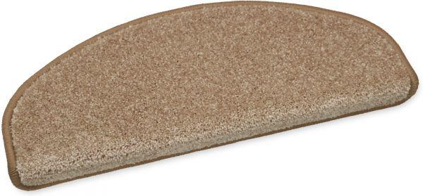 Weiche Stufenmatte Elegance braun 50x20