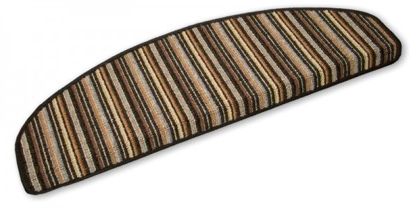 Stufenmatten Stripes anthrazit 75x24cm