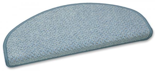 Stufenmatte Vorwerk Genua blau 50x20cm