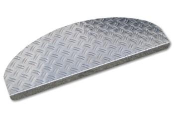 Stufenmatten aus Alu Riffelblech 50x20cm