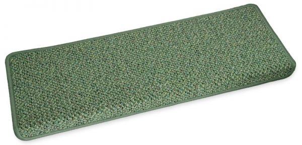 Stufenmatte Amazone grün eckig
