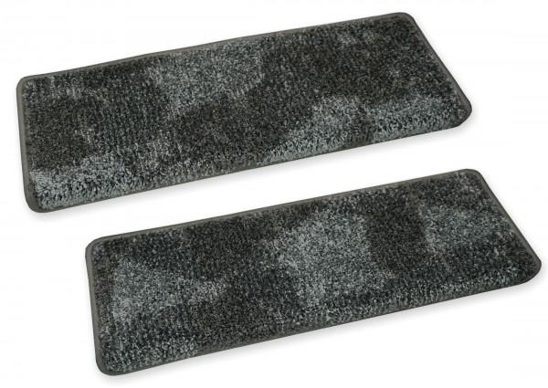 Stufenmatte Relax grau 65x23 eckig
