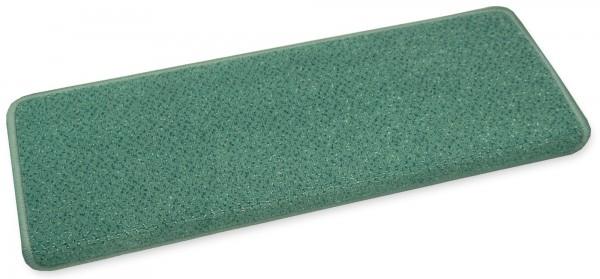 VORWERK-Stufenmatte Luxor 06 grün 65x23 eckig