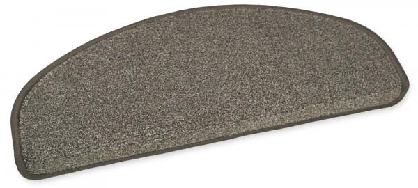 Hochwertige Stufenmatte London braun 50x20