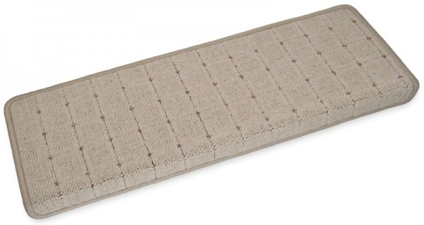 Stufenmatten Speedy beige eckig