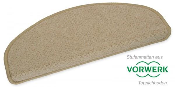 Stufenmatte Vorwerk Pisa beige 50x20cm