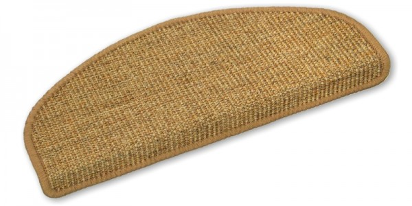 Stufenmatten Sisal braun 50x20cm