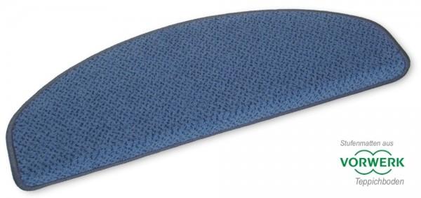 8 Stück Vorwerk Stufenmatten Pisa blau 01