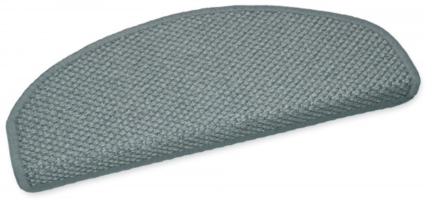 Sisal-Stufenmatte Panama grau 50x20cm