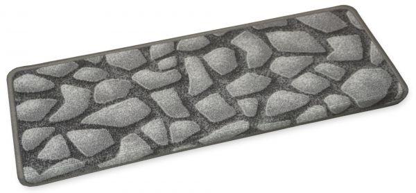 Moderne Stufenmatten Stones 65x23cm eckig