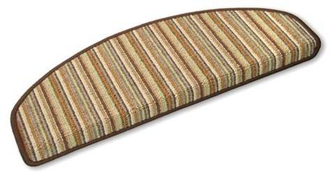 Stufenmatten Stripes braun