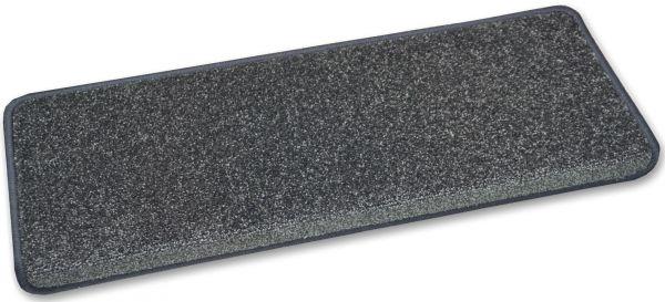 Exklusive Stufenmatte GALA anthrazit 65x23 eckig