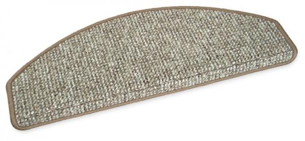 Stufenmatte Lima beige 65x28cm