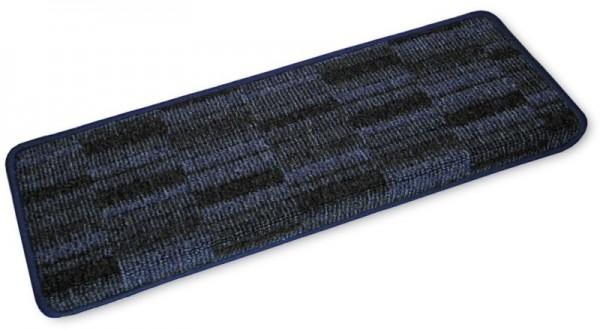 Stufenmatten Prestige eckig blau