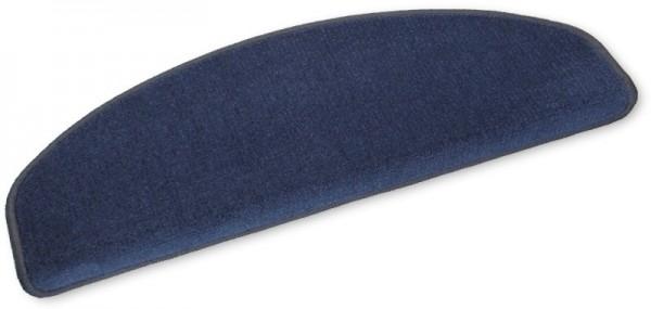 Stufenmatten Velours Linien blau 15er-Sparset