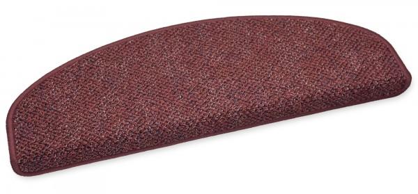 Stufenmatte Astor rot 75x24cm