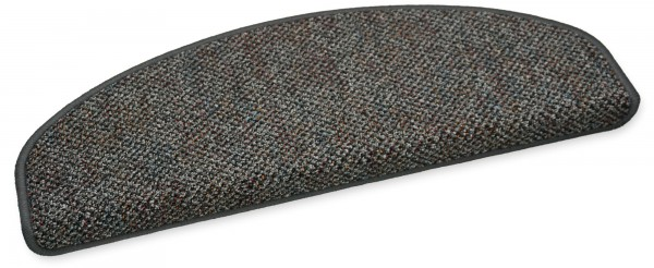Stufenmatte Astor grau halbrund