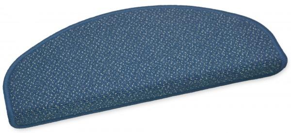 Stufenmatte Monza blau 50x20cm