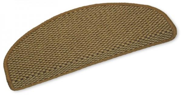 Sisal-Stufenmatten Brasil braun 50x20cm