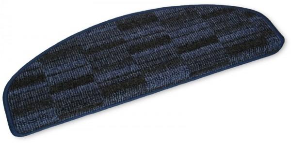 Stufenmatten Prestige halbrund blau