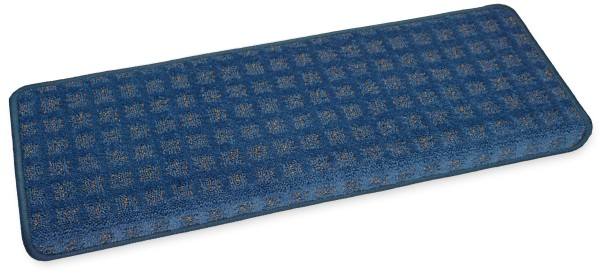 Stufenmatte Esprit blau eckig