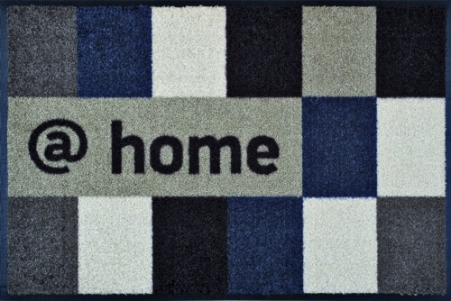 Waschbare Komfortmatte @Home braun