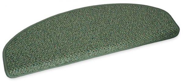 Stufenmatte Amazone grün halbrund