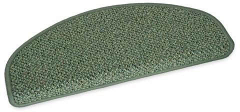 Stufenmatte Amazone grün 50x20cm halbrund
