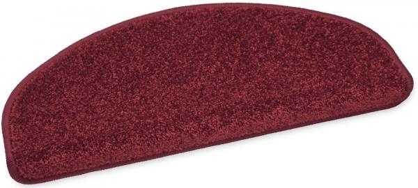 Weiche Stufenmatte Elegance rot 50x20